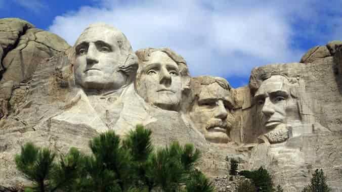 cuatro presidentes de los Estados Unidos