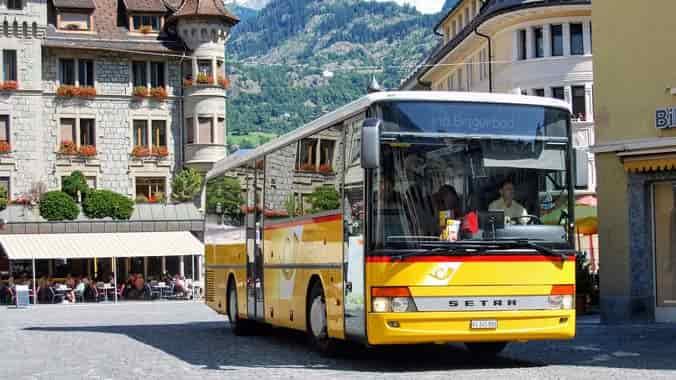 autobus en la calle