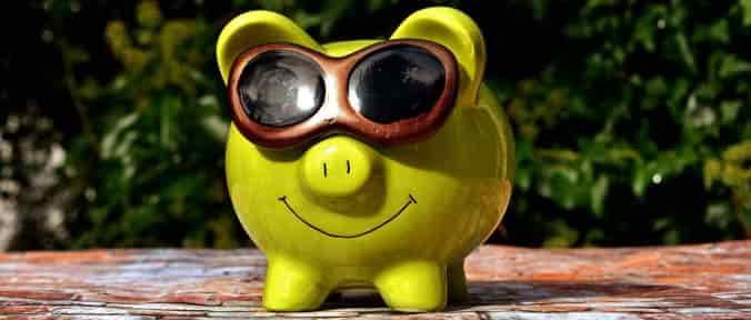 chanchito para ahorrar dinero