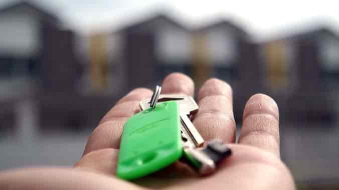 llaves de la casa nueva